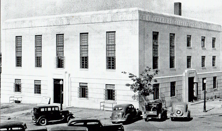 New Courthouse built in 1936