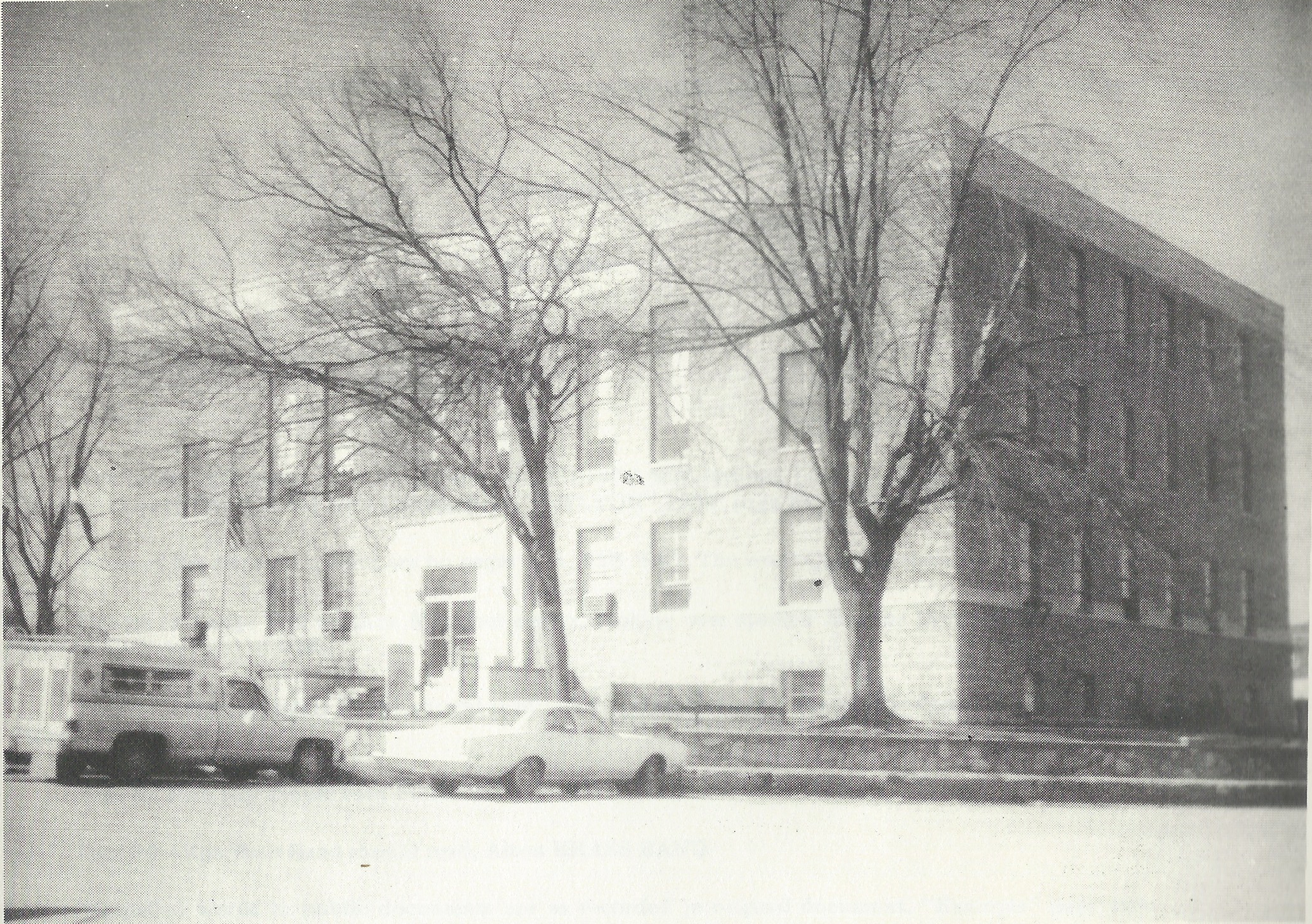 The third Courthouse in 1980