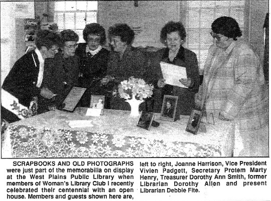 Women's Library Club Centennial