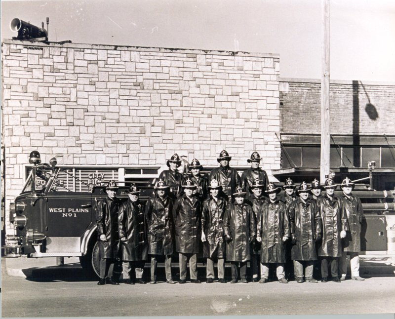 The West Plains Fire Department in 1953