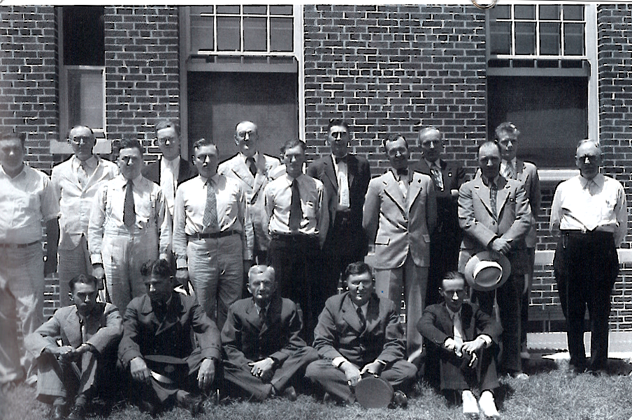 West Plains Post Office employees in 1932